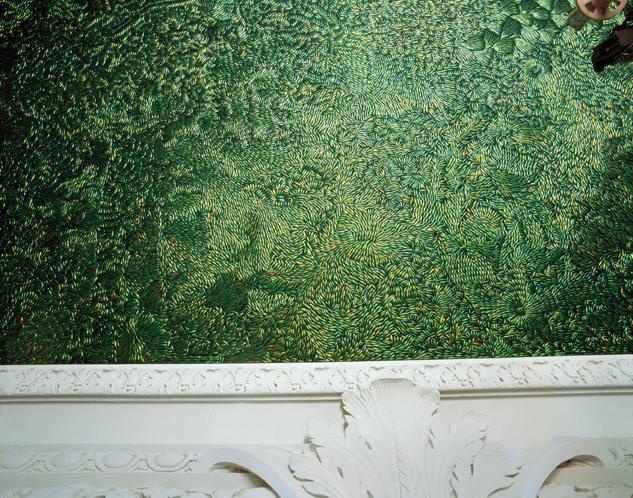 Jan Fabre techo delicias buprestidos Sternocera escarabajos