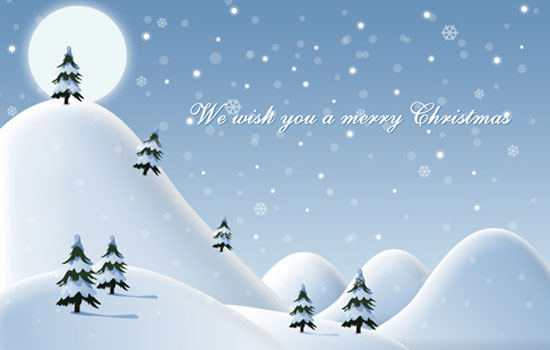 Te deseamos Feliz Navidad merry christmas