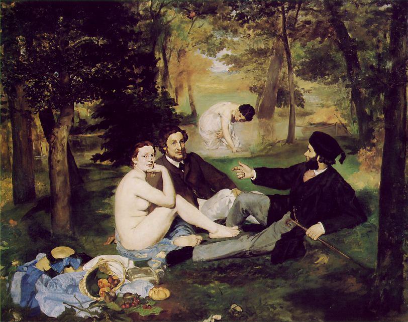 almuerzo-campestre-edouard-manet-picnic-dejeuner-lherbe-dorsay-paris