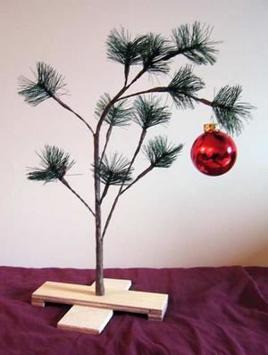 Charlie Brown Christmas Tree Sale