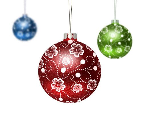 Tutoriales para crear dise os gr ficos de navidad blogodisea - Bolas gigantes de navidad ...