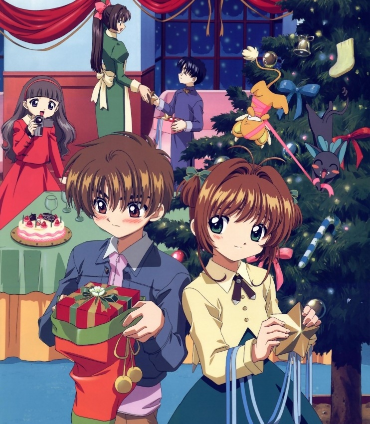 card captor sakura navidad christmas xmas