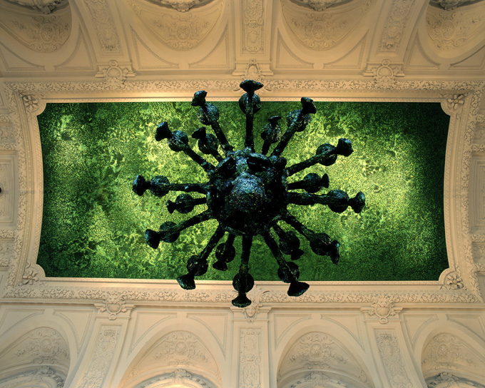cielo delicias palacio real bruselas lampara