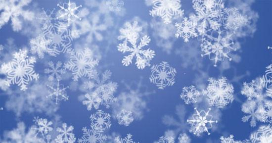 crear fondo copos nieve navidad tutorial