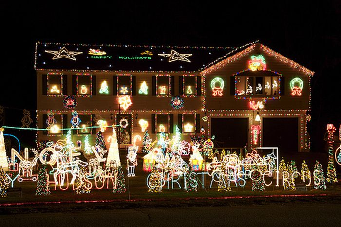 Decoraci n navide a de casas blogodisea - Decoracion navidena casas ...
