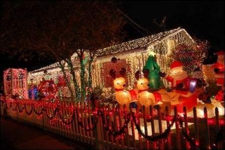 decoracion navidena navidad casas
