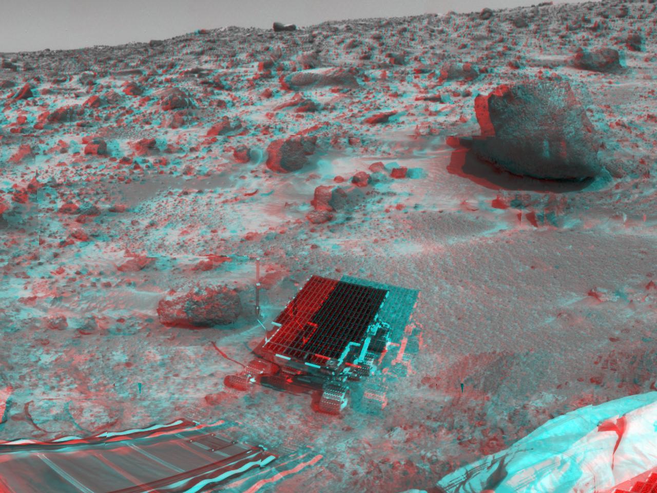 imagen 3D martes mars