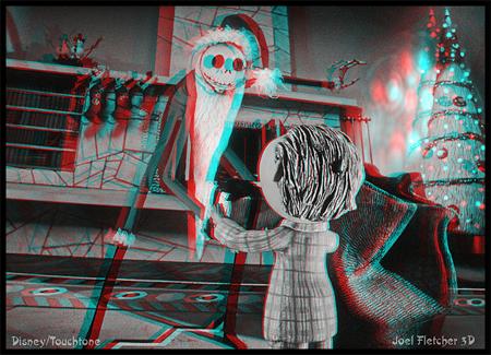 imagen 3D pesadilla antes navidad nightmare before christmas