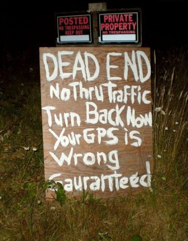 imagenes humor internet fin carretera