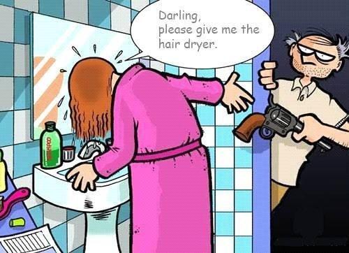 imagenes humor internet secador pistola