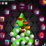 juego pintar colorear bolas arbol navidad