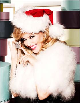 kylie minogue let it snow