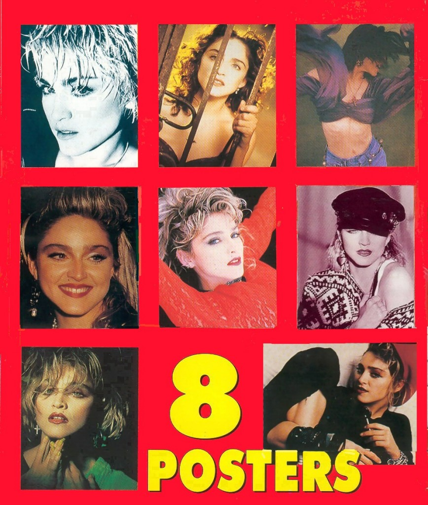 madonna 8 posters