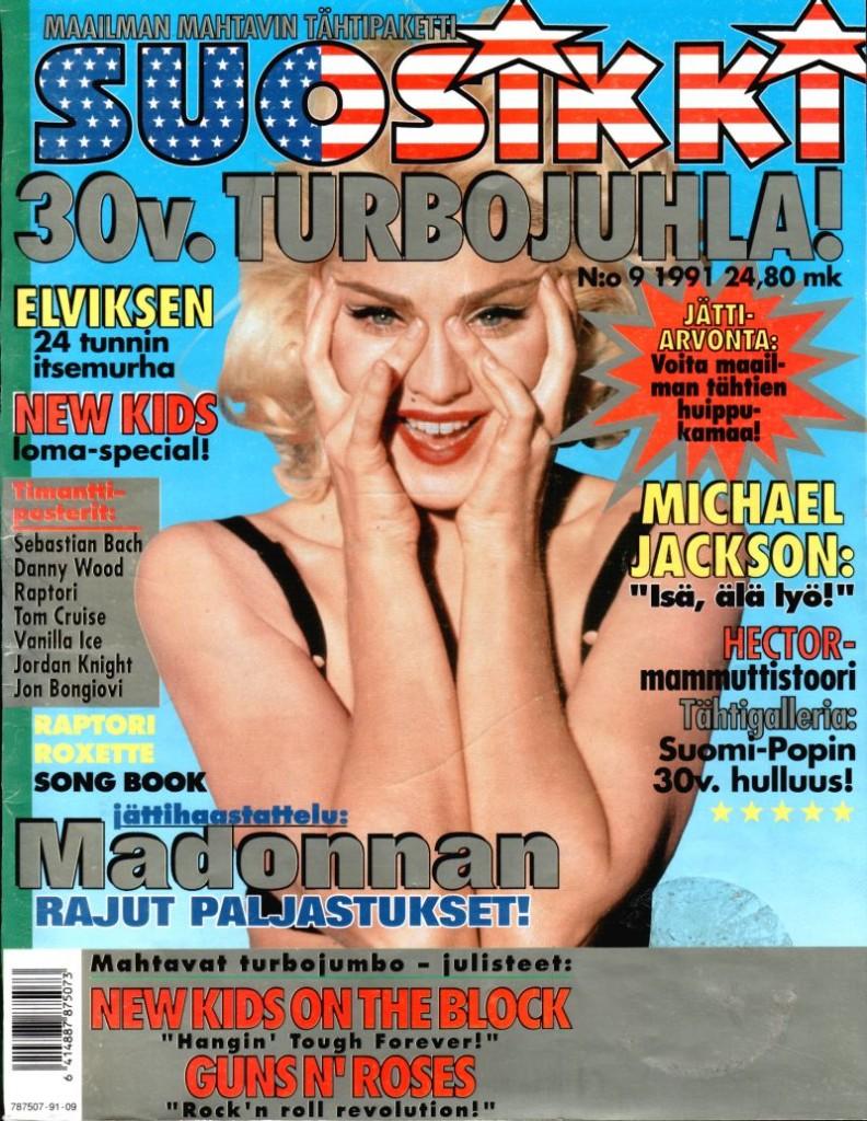 madonna Suosikki_1991