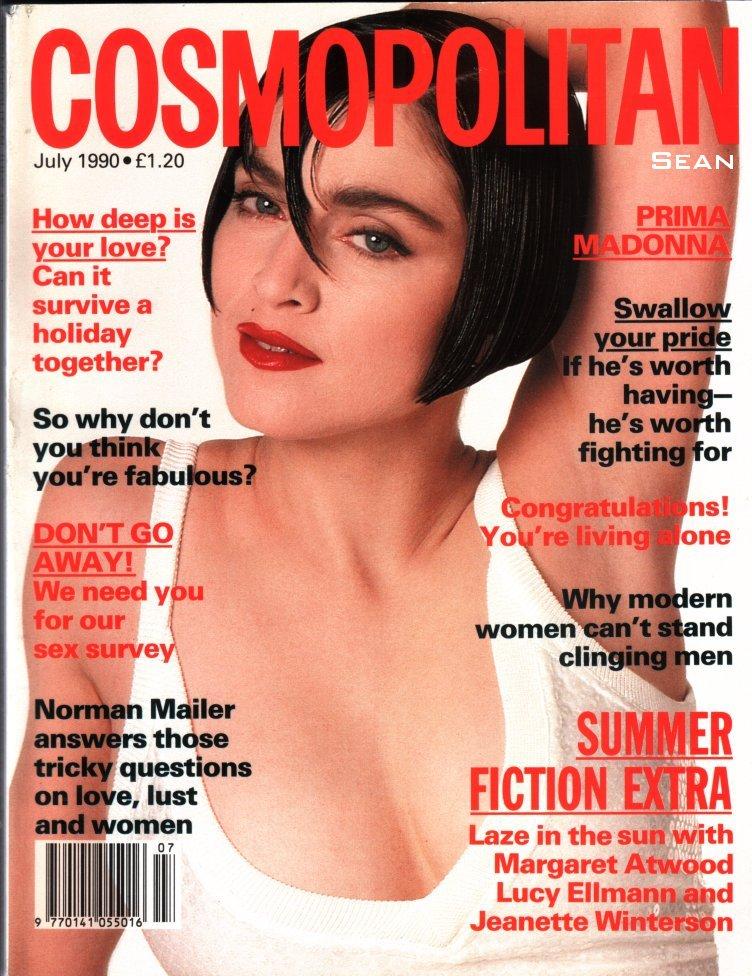 madonna cosmopolitan julio 1990