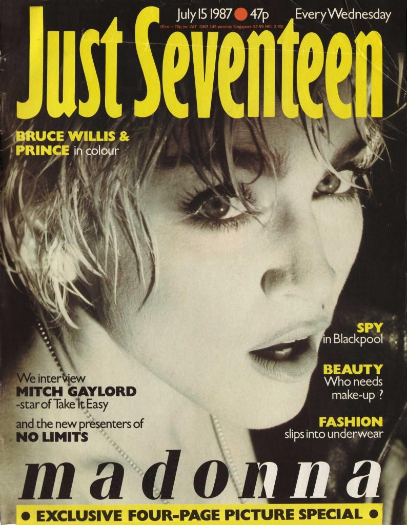 madonna just seventeen julio 1987