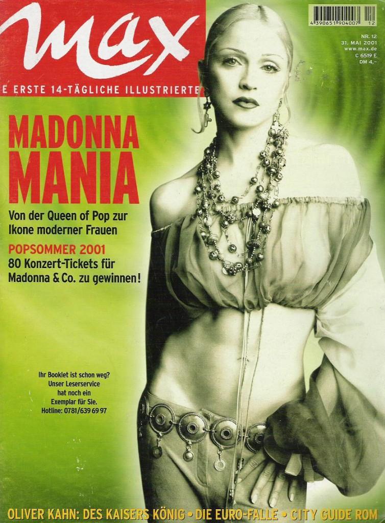 madonna max junio 2001