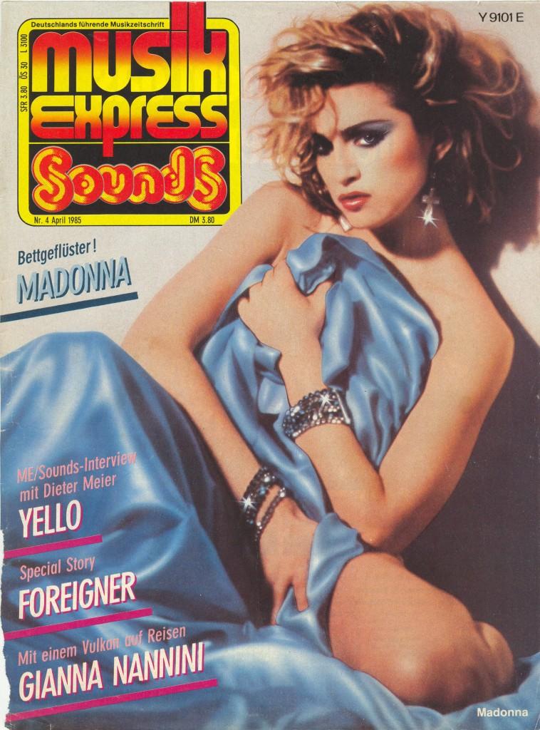 madonna musikexpress 1985