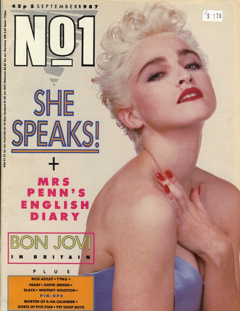 madonna n1 septiembre 1987