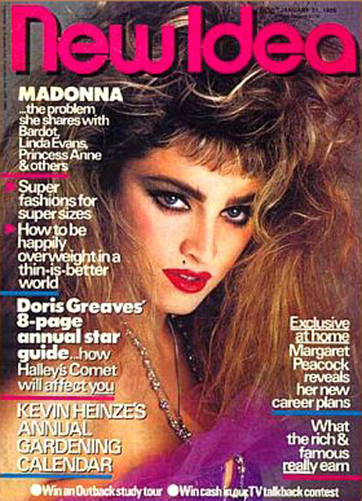 madonna new idea enero 1986