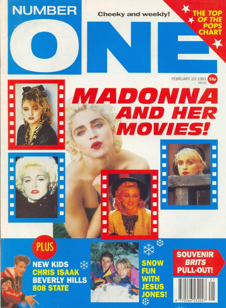 madonna number one febrero 1991