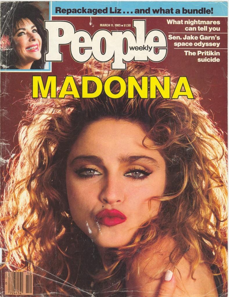 madonna people 1985