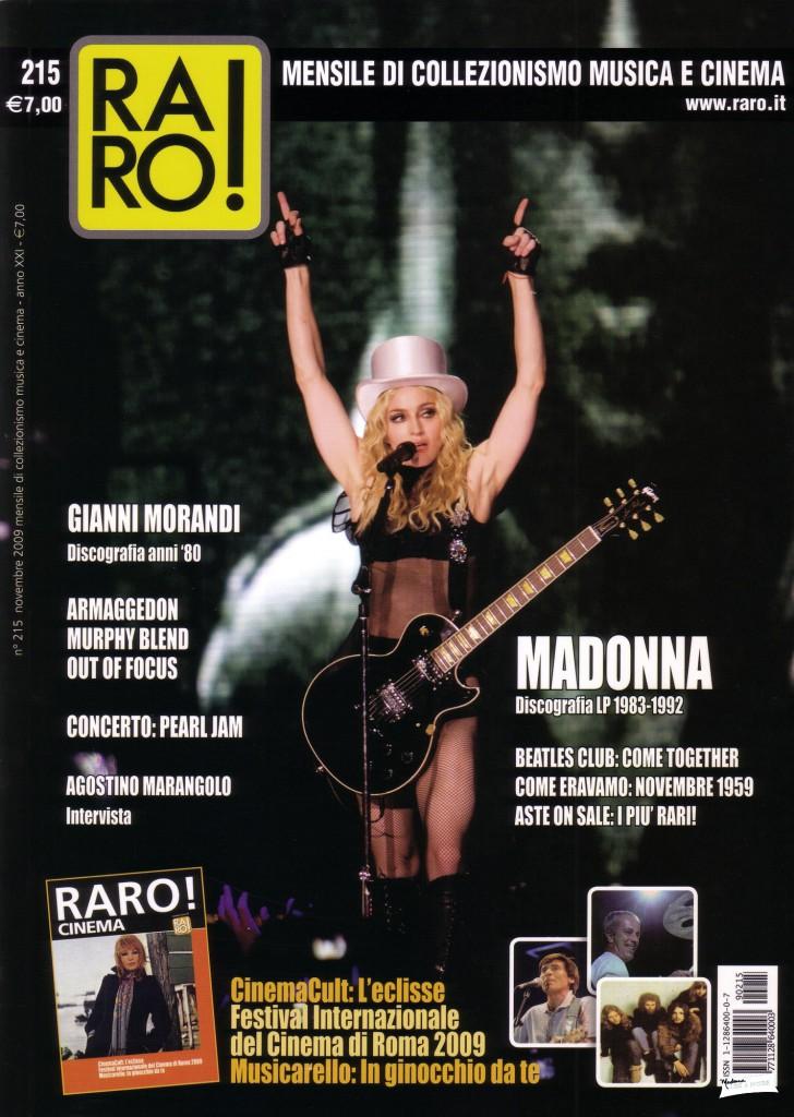 madonna raro cover noviembre 2009