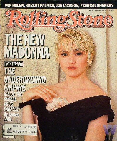 madonna rolling stone 1986 junio
