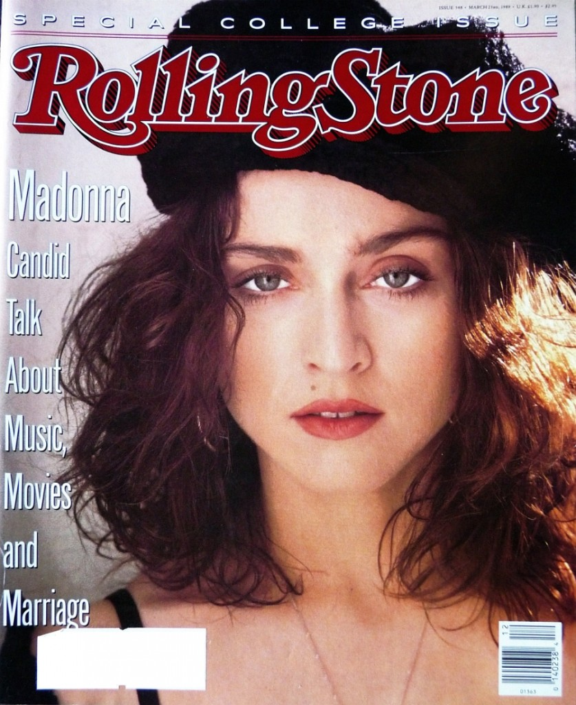 madonna rolling stone marzo 1989