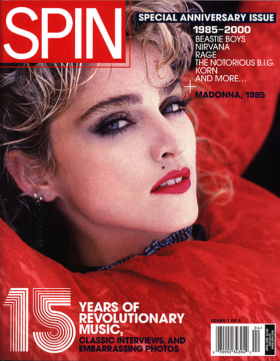 madonna spin abril 2000
