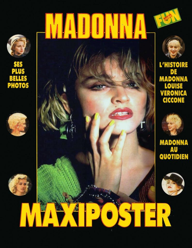 madonna spotlight maxi poster 1988