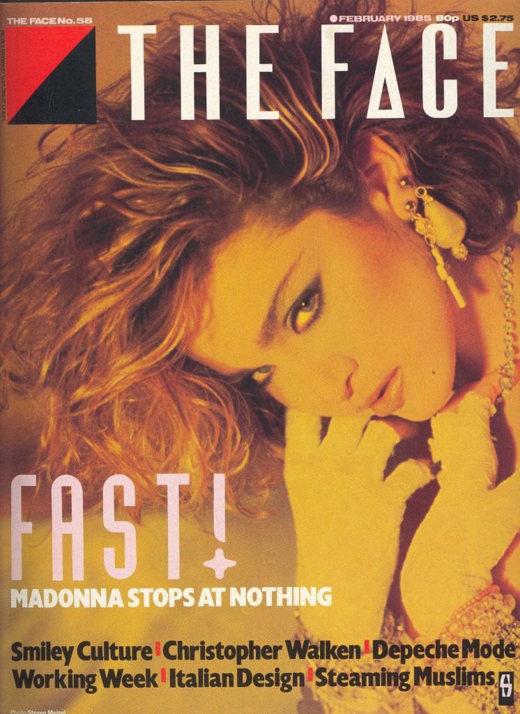 madonna the face febrero 1985