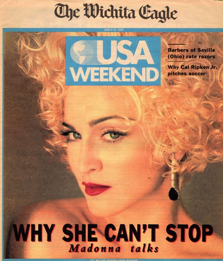 madonna the wichita eagle junio 1990