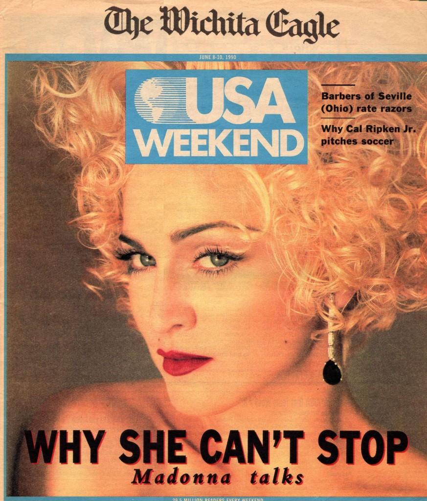 madonna the wichita eagle junio 1990