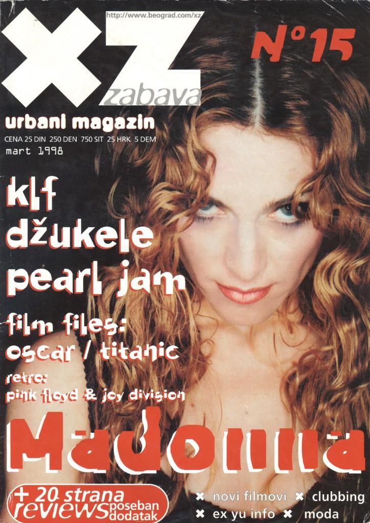 madonna xz marzo 1998
