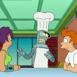 """Momentos Futurama: """"Yo no hablaría de sentido del gusto si llevase una camiseta verde lima&quot..."""