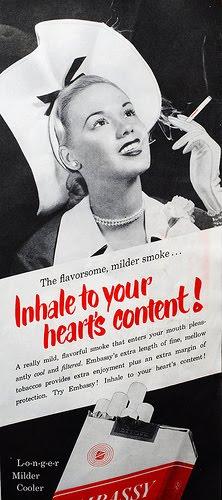 publicidad tabaco antigua embassy cigarros