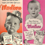 Publicidad de tabaco antigua