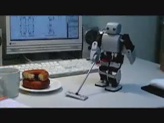 robot limpiando limpiador