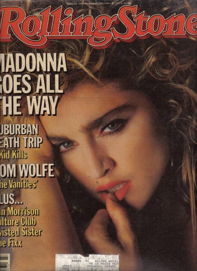 rolling stone noviembre 1984 cover