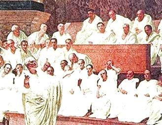 senado-republica-romana-panegirico-consul
