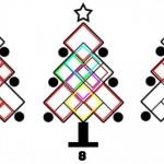 solucion cuadrados arbol navidad