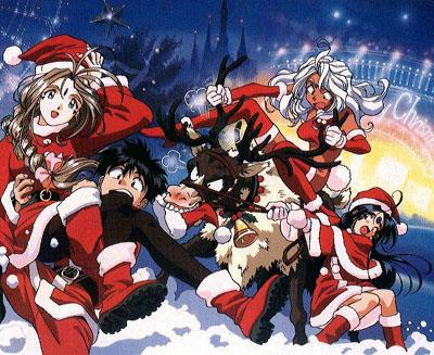 xmas christmas oh my goddess navidad