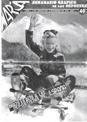 Marca primera portada 1938