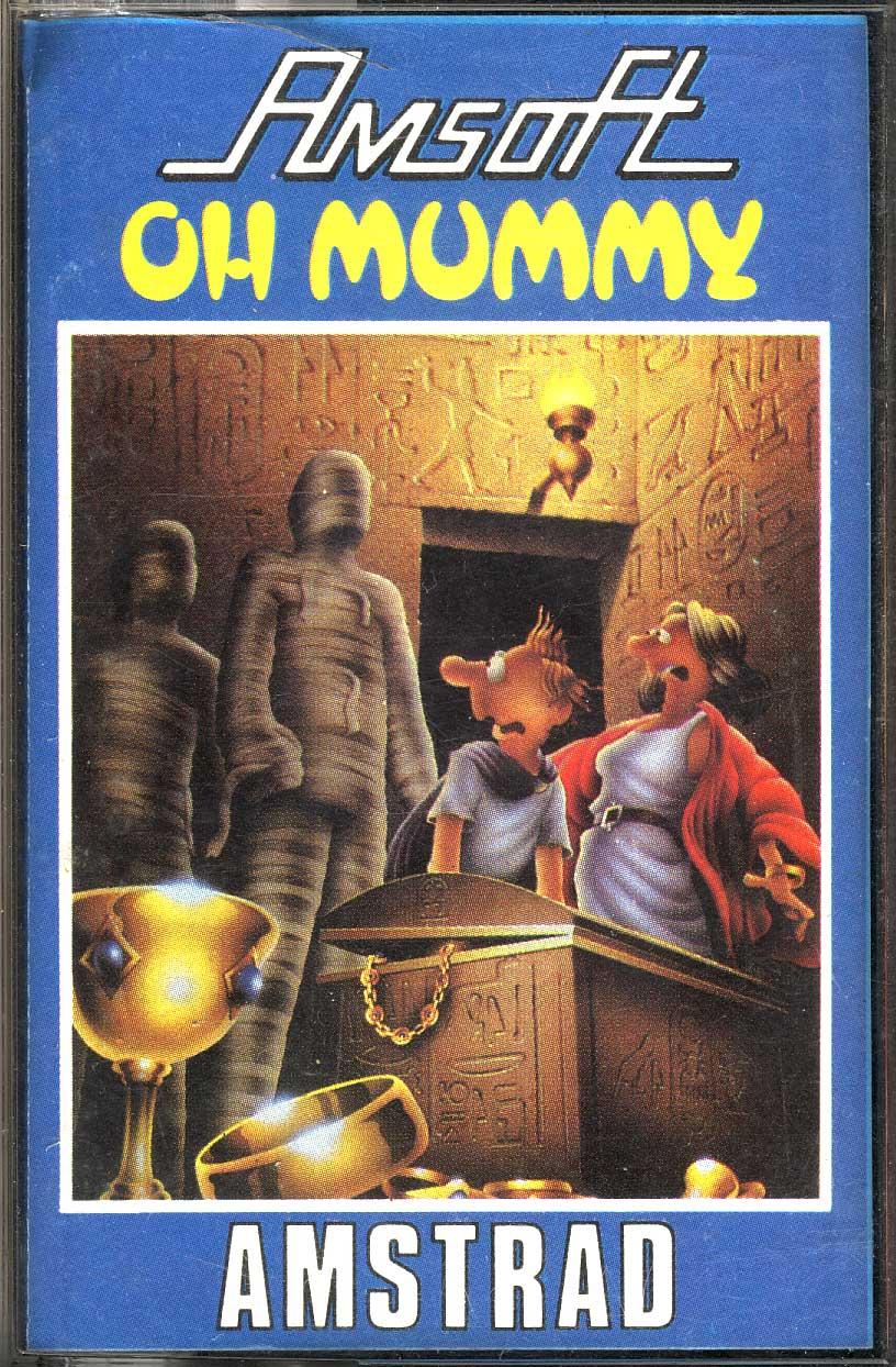 Oh-Mummy amstrad juego