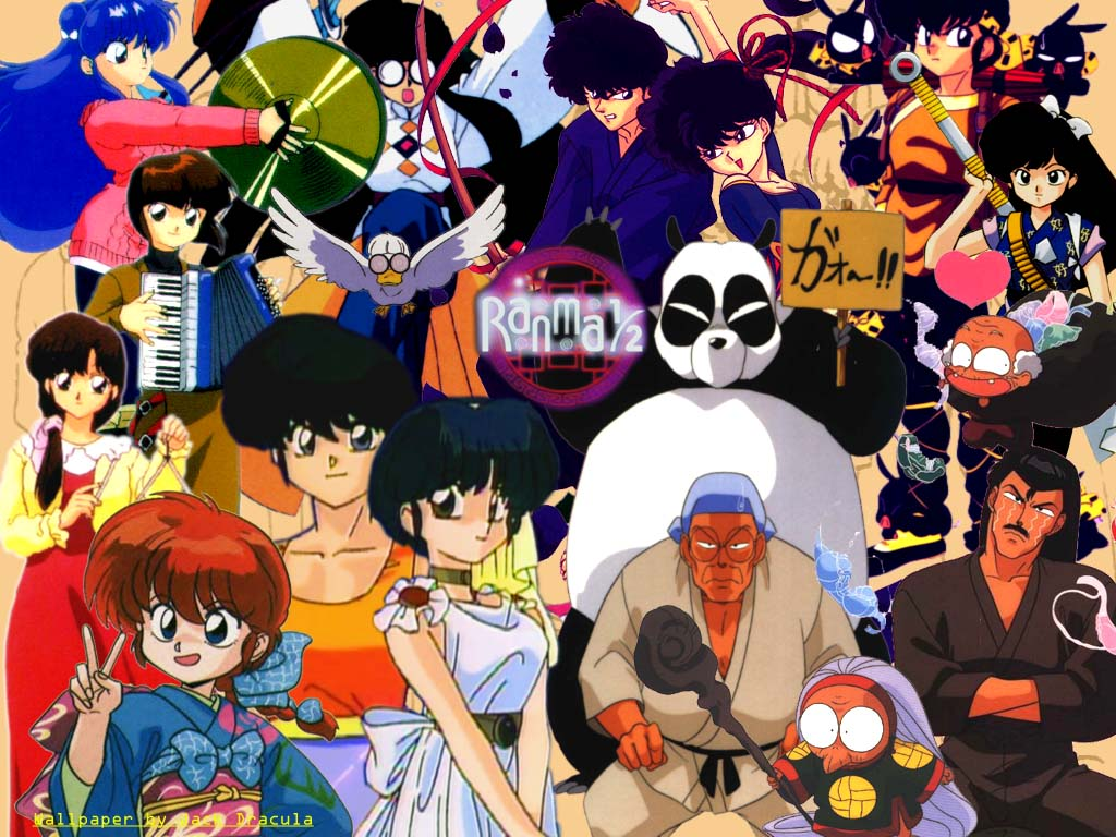 Ranma fondo escritorio Wallpaper