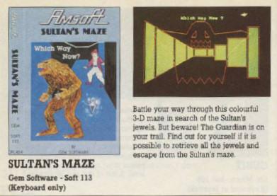 amstrad sultans maze