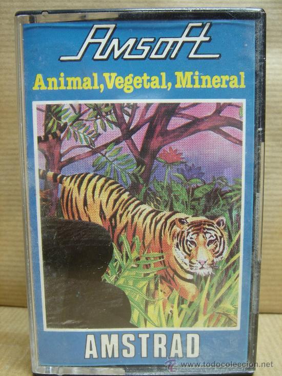 animal vegetal mineral
