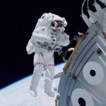 astronauta estacion espacial