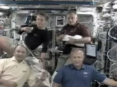astronautas Estacion Espacial Internacional